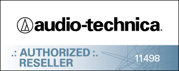 Audio-Technica Authorized Dealer Badge 11498