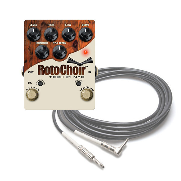 tech 21 roto choir rotary speaker simulator guitar effects pedal ebay. Black Bedroom Furniture Sets. Home Design Ideas