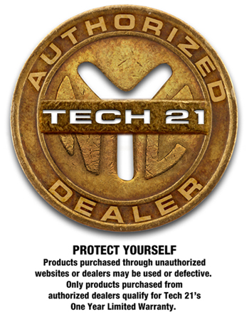 Tech 21 Authorized Dealer Badge